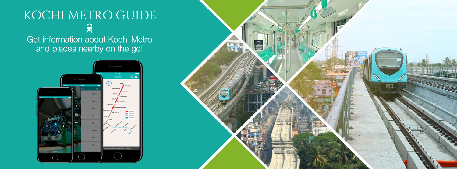The newly launched Kochi Metro Guide App is a versatile app which provides you with information that helps you use the metro to the best of your advantage.